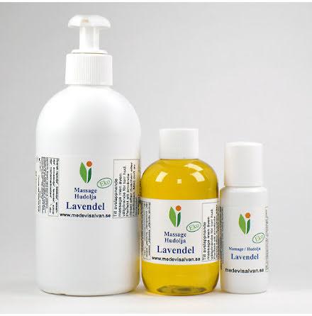 Massage/hudolja Lavendel