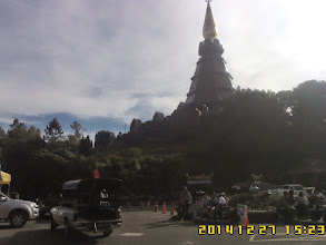 Photo: Chiangmai Tour with Local ChiangMai Tour guide - More Picture for ChiangMai tour service to Ms Lai and family - ChiangMai Tour on DEC 27, 2014 Visit to Doi Inthanon National Park see more tour at http://www.chiangmai4u.com