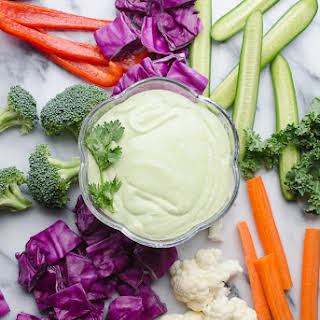 Jalapeño Greek Yogurt Dip.