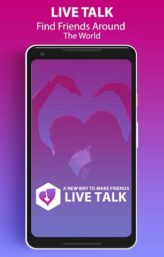 Live Talk u2013 Random Video Chat 1.6 screenshots 1