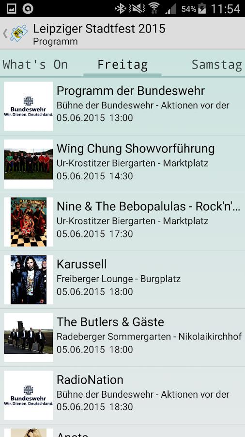 Leipziger Stadtfest- screenshot