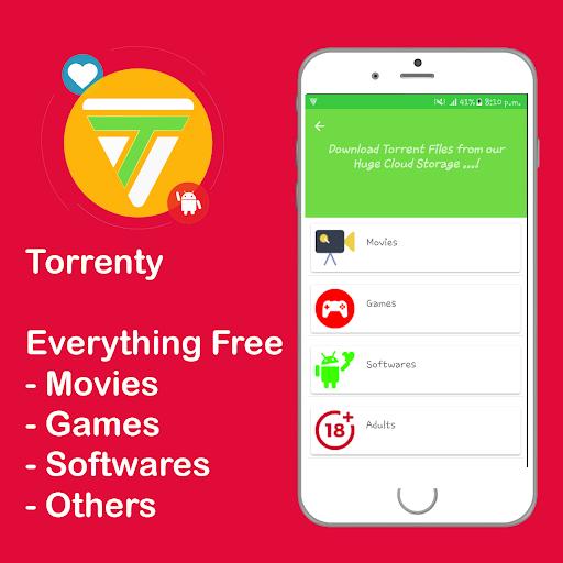 Torrenty-Torrent Pro Client BitTorrent Downloader 2.0. screenshots 2