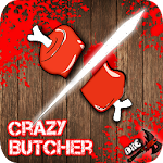 Crazy Ninja Butcher-Meat Slice Icon