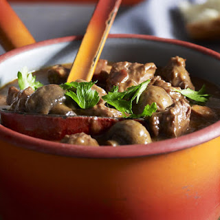 Beef and Red Wine Casserole.