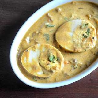 Egg Curry With Coconut Milk Indian Recipes