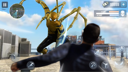 Spider Rope Hero - Gangster New York City  screenshots 2