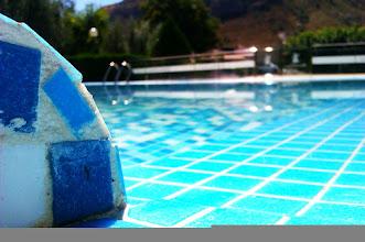 Photo: Esto sigue... 16SEP12 & 35oC: paradise, sun, blue, swimming and the Blonde Rock