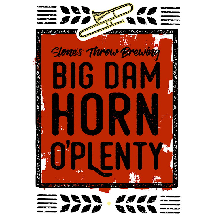 Logo of Stone's Throw Big Dam Horn-O-Plenty