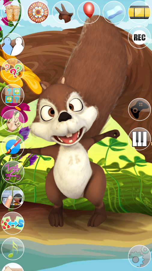 Talking Baby Squirrel- screenshot