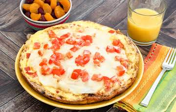 Southwest Breakfast Frittata Quesadilla