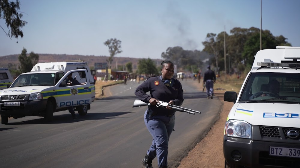 WATCH | 'Massive' protests in Lenasia South and Lawley - TimesLIVE