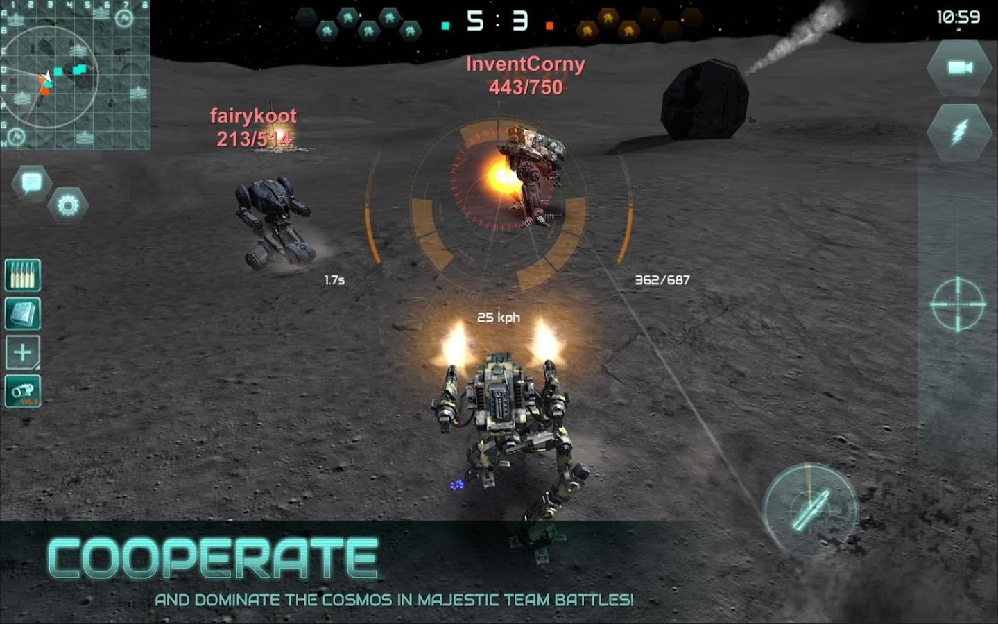 Robokrieg - Robot War Online- screenshot