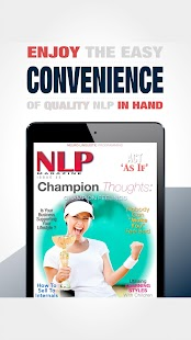 NLP Magazine App- screenshot thumbnail