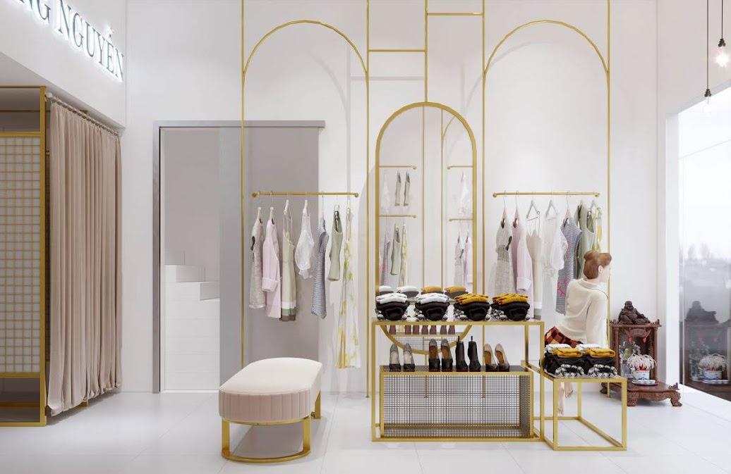 thiết kế shop thời trang nữ bạch mai 4