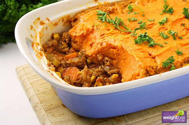 Sweet Potato Shepherds Pie Recipe