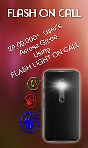 FlashLight on Call – Automatic Flash Light Blink 6