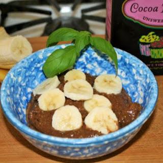 Banana Chocolate Crunch Avocado Pudding