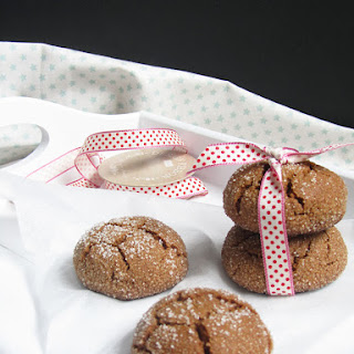 Ginger and Molasses Cookies.