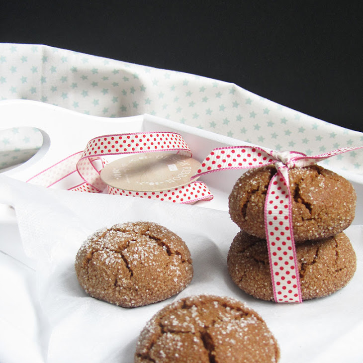 Ginger and Molasses Cookies Recipe
