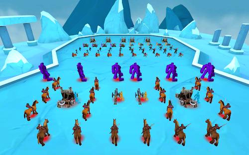 Screenshot 2 Epic Battle Simulator 1.6.50 APK MOD