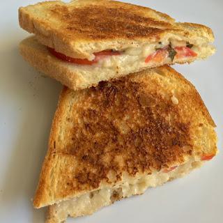 Simple Italian Grilled Cheese Sandwich (Vegan) Recipe