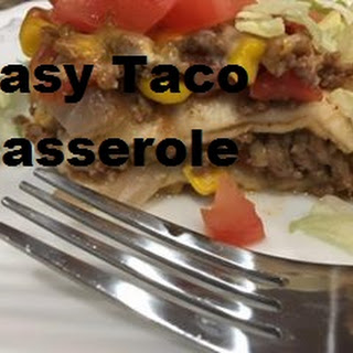 Taco Casserole - Can Be a Freezer Meal Recipe