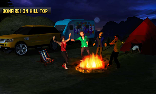Camper Van Truck Simulator 2: Virtual Family Games 1.1 screenshots 4