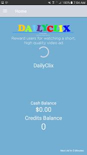 DailyClix screenshot 2