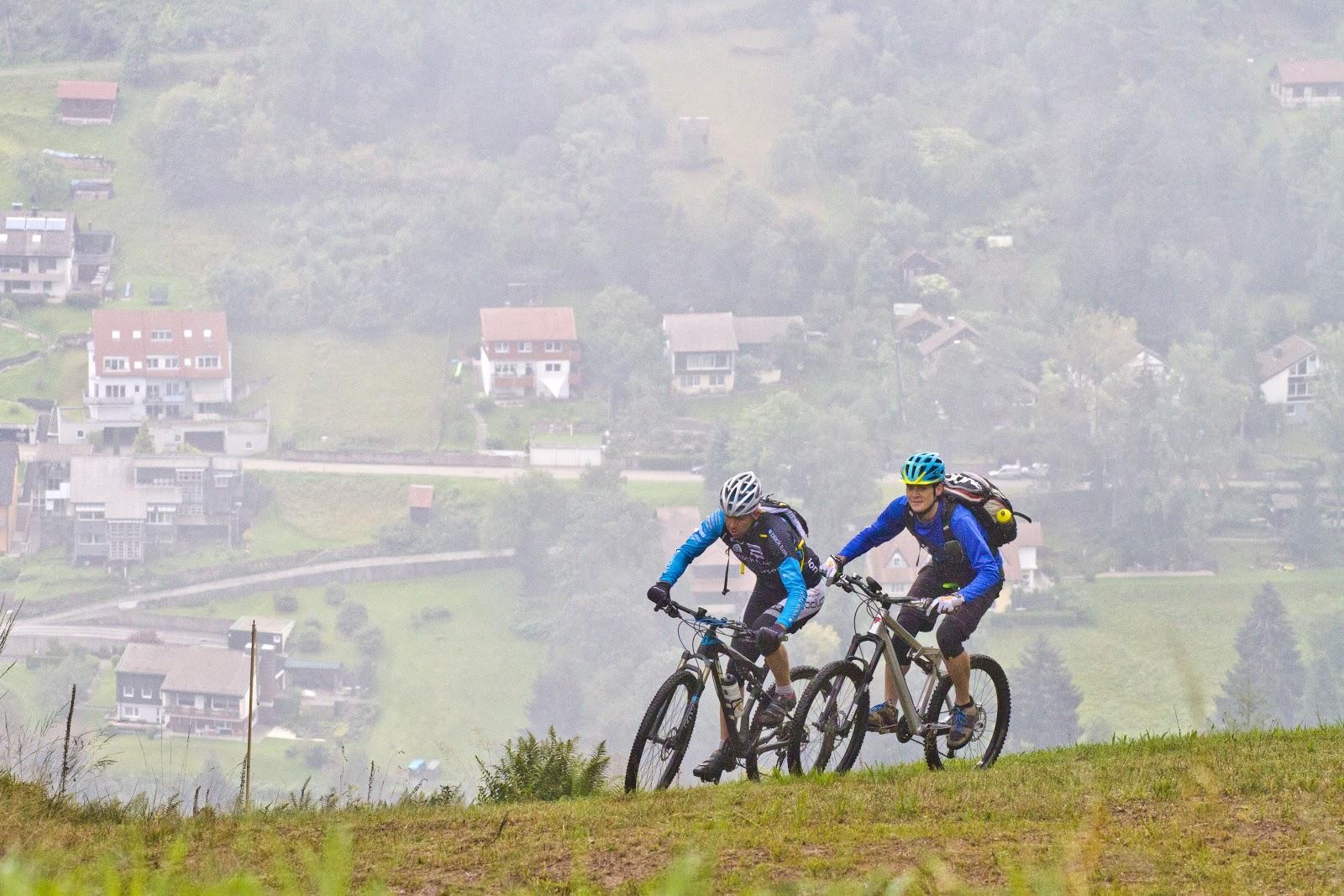 Sportlich radeln im Schwarzwald