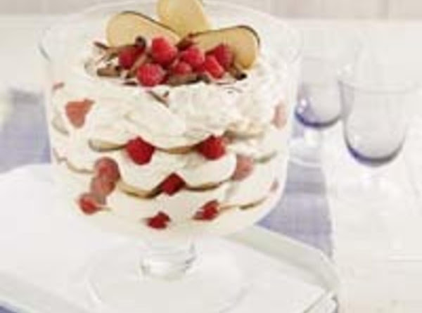 Raspberry Tiramisu Trifle Recipe