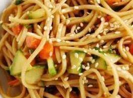 Cold Oriental Noodle Salad Recipe