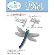 Elizabeth Craft Metal Die - Dragonfly Silhouette