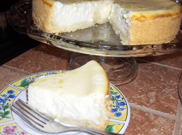 I'm From New York ... And I Like Dense, Heavy, New York-style Cheesecake! This Recipe Satisfies That Requirement For Me, As Well As Being Simple To Put Together. Its Creamy Texture And Not-too-sweet Crust Are Just The Right Combination!