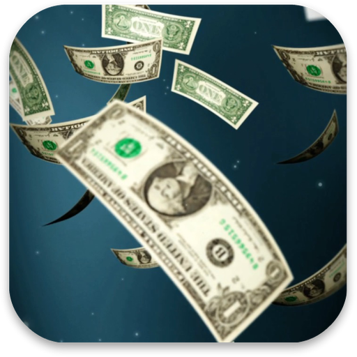 Money Rain Live Wallpaper