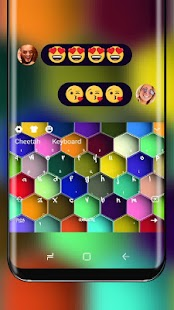 Rainbow Hive Keyboard Colorful Honeycomb for Vivo - náhled