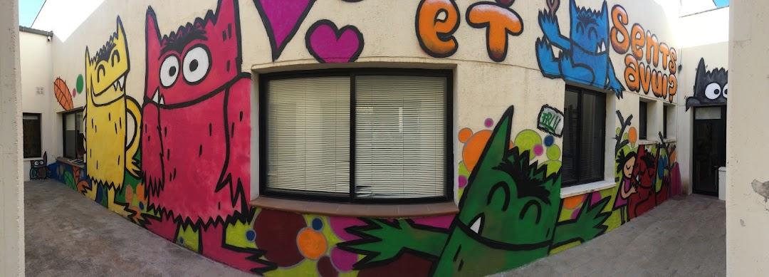Mural al centre