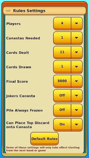 Canasta apkpoly screenshots 7