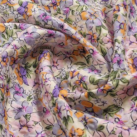 Blommor Bomullspoplin