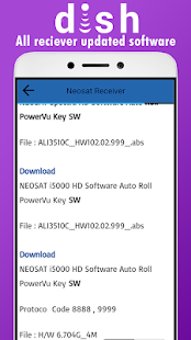 Download All Dish Receiver Software Downloader PowerVU Keys APK