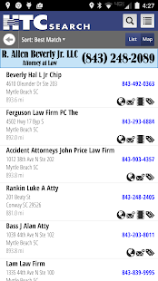 HTC Yellow Pages- screenshot thumbnail