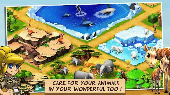 Wonder Zoo – Animal rescue ! 2.1.0f Mod + Data for Android 1