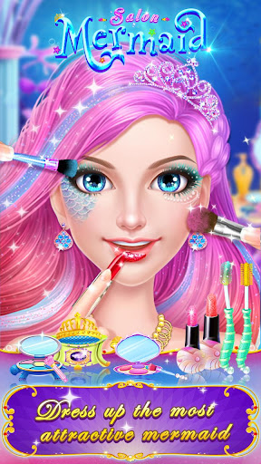 🧜♀️👸Mermaid Makeup Salon screenshot 13