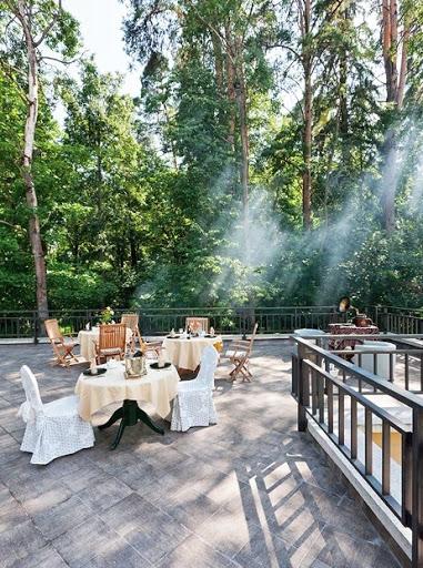 Веранда «У Карлсона» в Таёжные Дачи для свадьбы