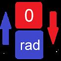 Converter degrees icon