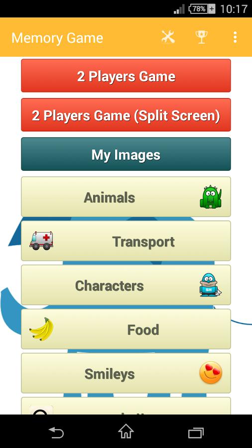 Memory Game - screenshot