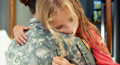 How to talk to your child about a deployment