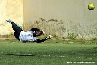 Photo: Solomon 'Zombo' Morris (Goalkeeper)  [Leone Stars Training Camp, Cape Verde, June 2013 (Pic: Darren McKinstry)]