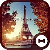 Beautiful Wallpaper Paris in Autumn Theme