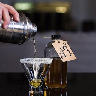 Chamomile Pear Elderflower Martini   Tipsy Tuesday