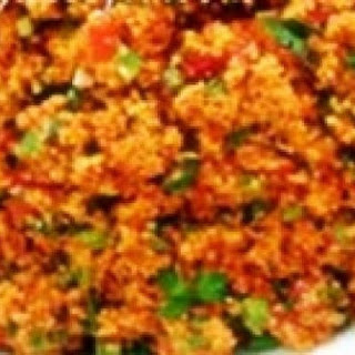 Bulgur Salad a Traditional Turkish Kisir